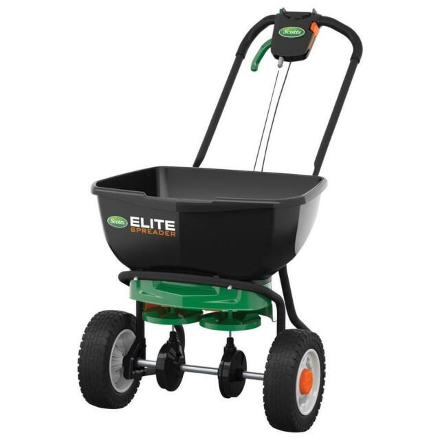 Scotts Elite Edgeguard Spreader